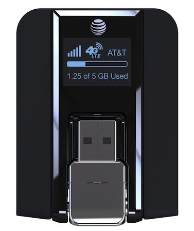 AT&T Beam is a USB LTE modem with builtin LCD, due May 10th for $20