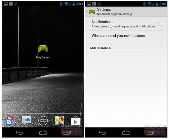 'Google Play Games' leaks, gives Android gamers a home for invites, achievements and more