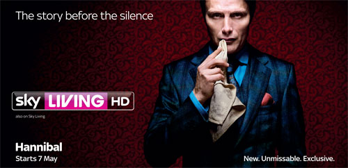 Sky opts for Hannibal ondemand and Go debut ahead of May 7th TV premiere