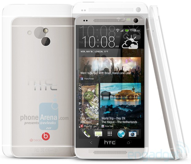 HTC M4 leaked, suggests flagship style with middleweight specs updated with comparison image