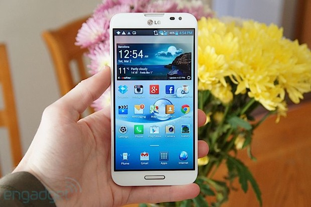 PSA LG Optimus G Pro on sale at AT&T today, Mom would approve