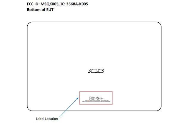 DNP ASUS K005 tablet hits the FCC, Snapdragon S4 Pro