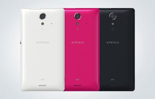 Sony Xperia UL announced for Japan 5inch 1080p display and 15frame burst photography skills video
