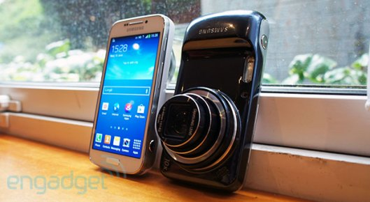 Samsung Galaxy S 4 Zoom handson, witty rejoinder here