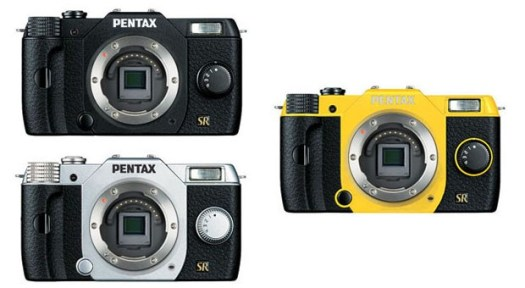 Pentax Q7 purportedly leaks with three color options, larger sensor than Q10
