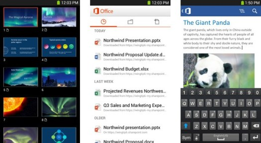 Microsoft brings Office Mobile to Android