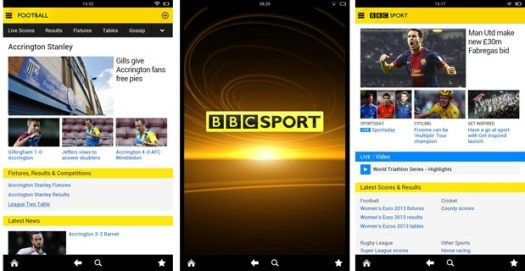 BBC Sport app comes to Kindle Fire, now lets you filter out Chelsea news