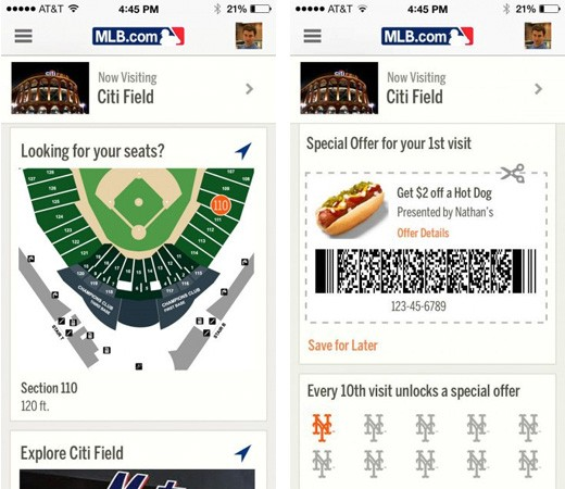 MLB to use iOS 7's indoor mapping to point out sights and seats in stadiums