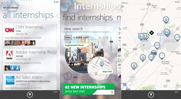 DNP Nokia's Internship Lens uses AR to find tktk of your dreams, or not