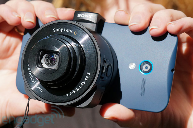 DNP Sony Cybershot QX10 review a WiFi 'lens camera' that mounts directly on your smartphone