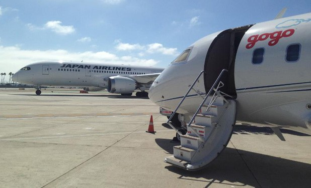 Gogo goes international, to provide Japan Airlines domestic inflight WiFi