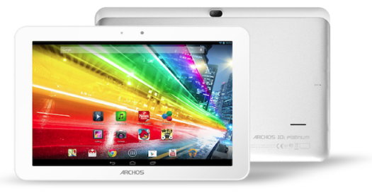 DNP Archos Platinum tablets tote quadcore processors and IPS displays, start at $200