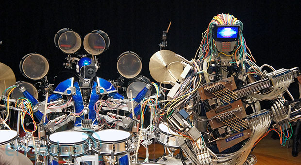 ZMachines the robot band that headlined Maker Faire Tokyo