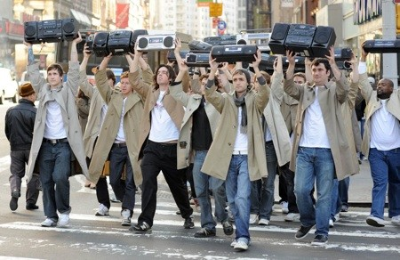 A Lloyd Dobler Mob - a Mobler, if you will.