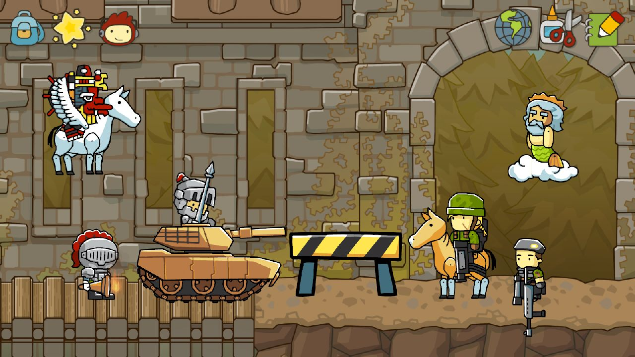 Scribblenauts Unlimited | Thomas Oliver's AS Blog