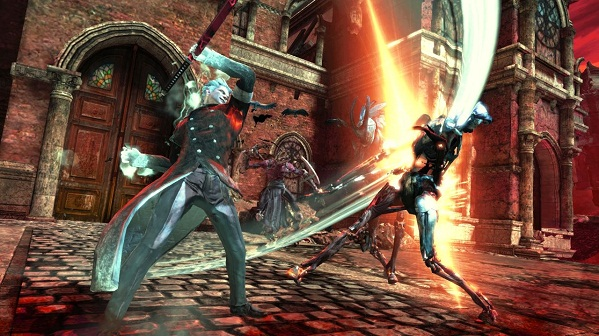 Gameplay video of Vergil's Downfall DMC DLC