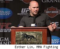Dana White will talk to the media at the UFC 129 press conference.