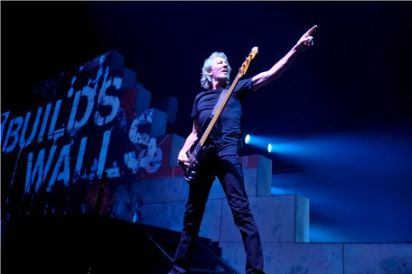 Roger Waters performs 'The Wall'