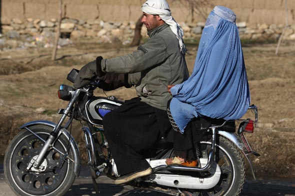 male burqa ban france wife motorcycle