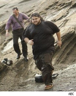 "Ben and Hurley in ""Lost"" series finale, ""The End"""