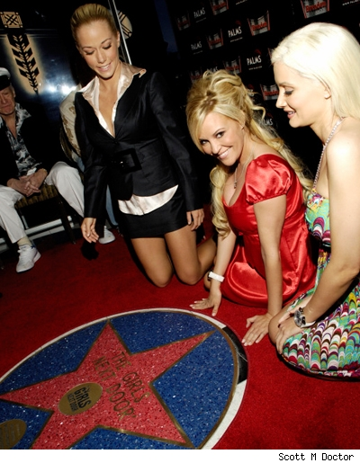 Holly Madison, Bridget Marquardt and Kendra Wilkinson