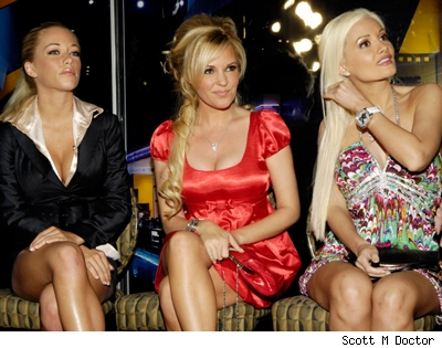 Girls Holly Madison, Bridget Marquardt and Kendra Wilkinson in Vegas