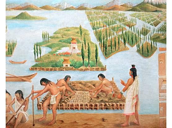 Sistema Que Utilizaban Los Aztecas Para Su Economía Los