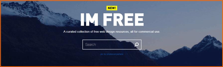 free images for website design