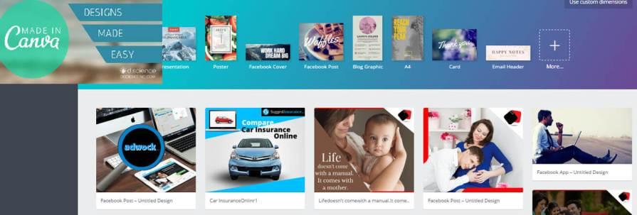 Online Graphic Design Tools