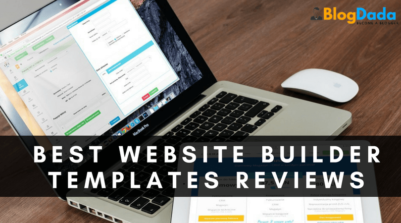 The Best Website Builder Templates of 2017