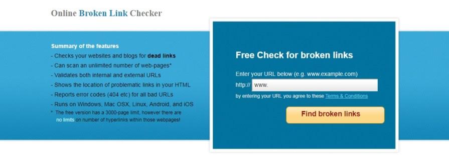 Brokenlinkcheck - SEO Plugins for wordress