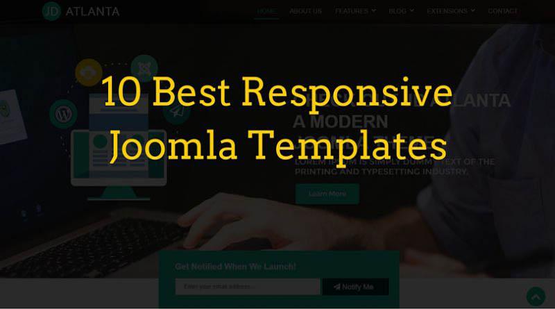 Best Joomla Templates Responsive