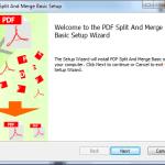 PDF Split - Avançar