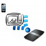Microondas interferindo no sinal Wifi
