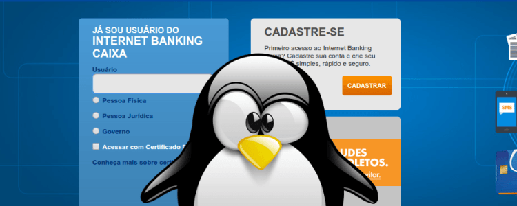 Caixa Econômica Federal no Linux Ubuntu