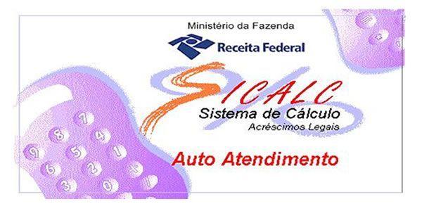 Sicalc - Programa de cálculos de tributos da RFB