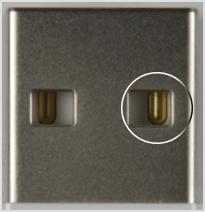 Contato da USB