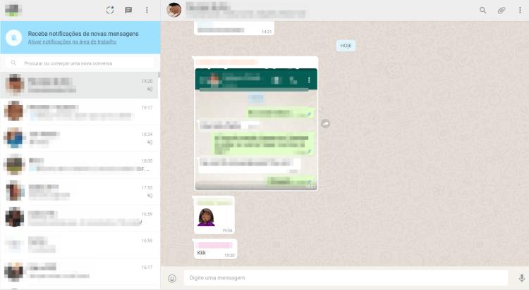 Whatsapp Web - Conectado