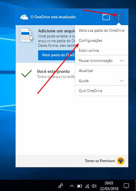 OneDrive - Configurações