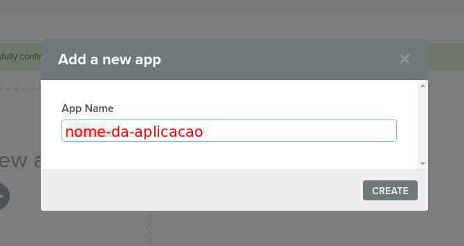 Criar Aplicação