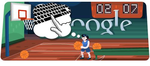 Jogos do Google - Basketball 2012