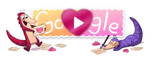 Jogos do Google - Pangolin love