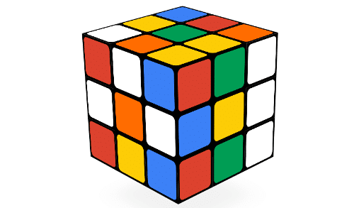 Jogos do Google - Rubiks cube