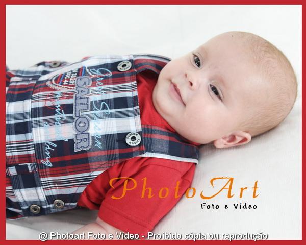 Book de acompanhamento de bebês. estúdio fotográfico infantil