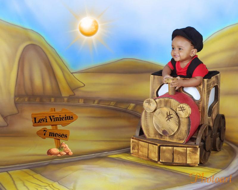 Levi, o maquinista do trêm
