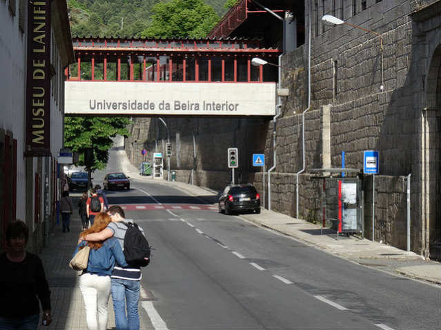 Universidade da Beira Interior | Foto: Jeffrey Beall, via Flickr