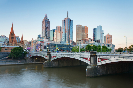 Estudar em Melbourne | Princess Bridge | Foto: Diliff via Wikimedia Commons