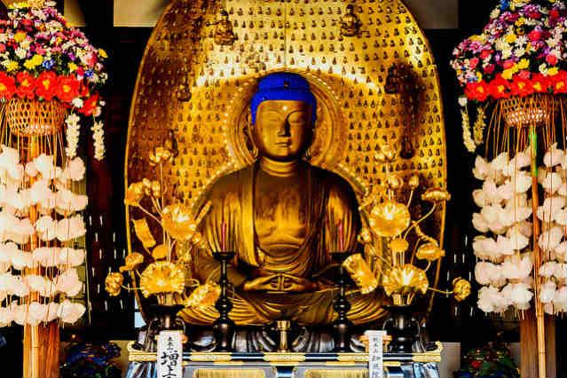 Buda, Templo Kuhonbutsu Joshinji | Foto: Toshihiro Gamo, via Flickr