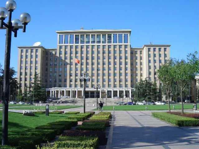 Prédio central, Tsinghua University | Schwarzman Scholars | Foto: me, via Wikimedia Commons