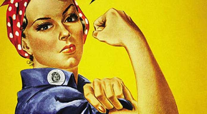 Bolsas de estudo para mulheres | Imagem: J. Howard Miller, via Wikimedia Commons